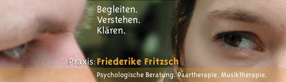 Begleiten. Verstehen. Klären. – Friederike Fritzsch.